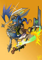 League of Legends gender bend commission by blueyoshimenace