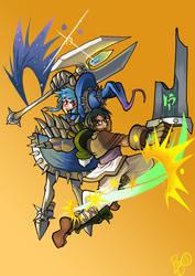 League of Legends gender bend commission