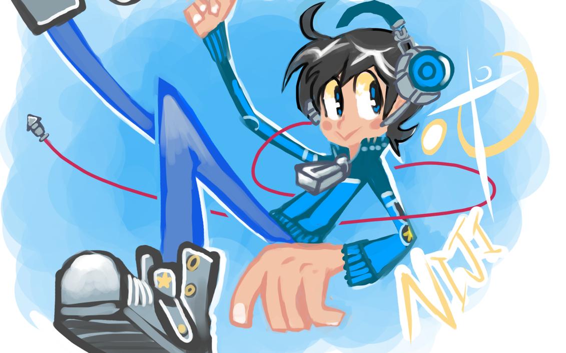 Niji Doodle by blueyoshimenace