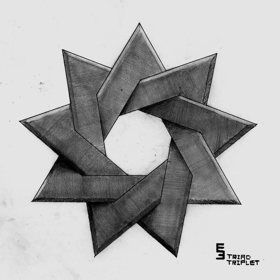 Triad Triplet by EisenFeuer