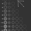 Radial Geometry Chart by EisenFeuer