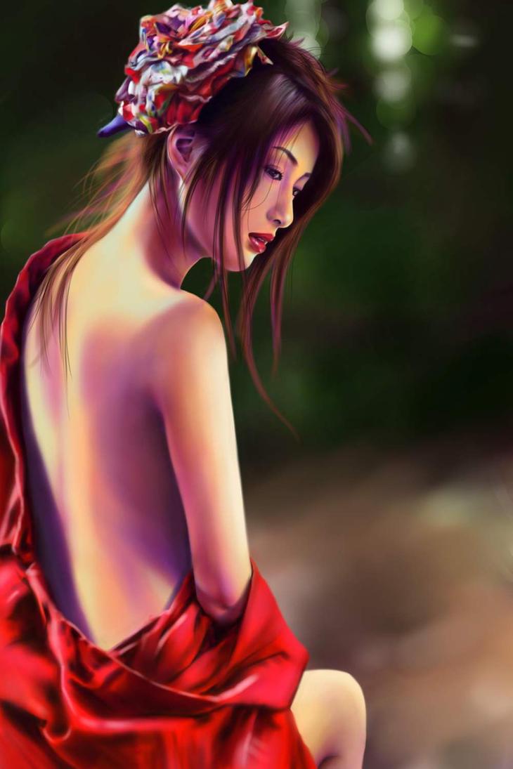 Geisha Naked 20