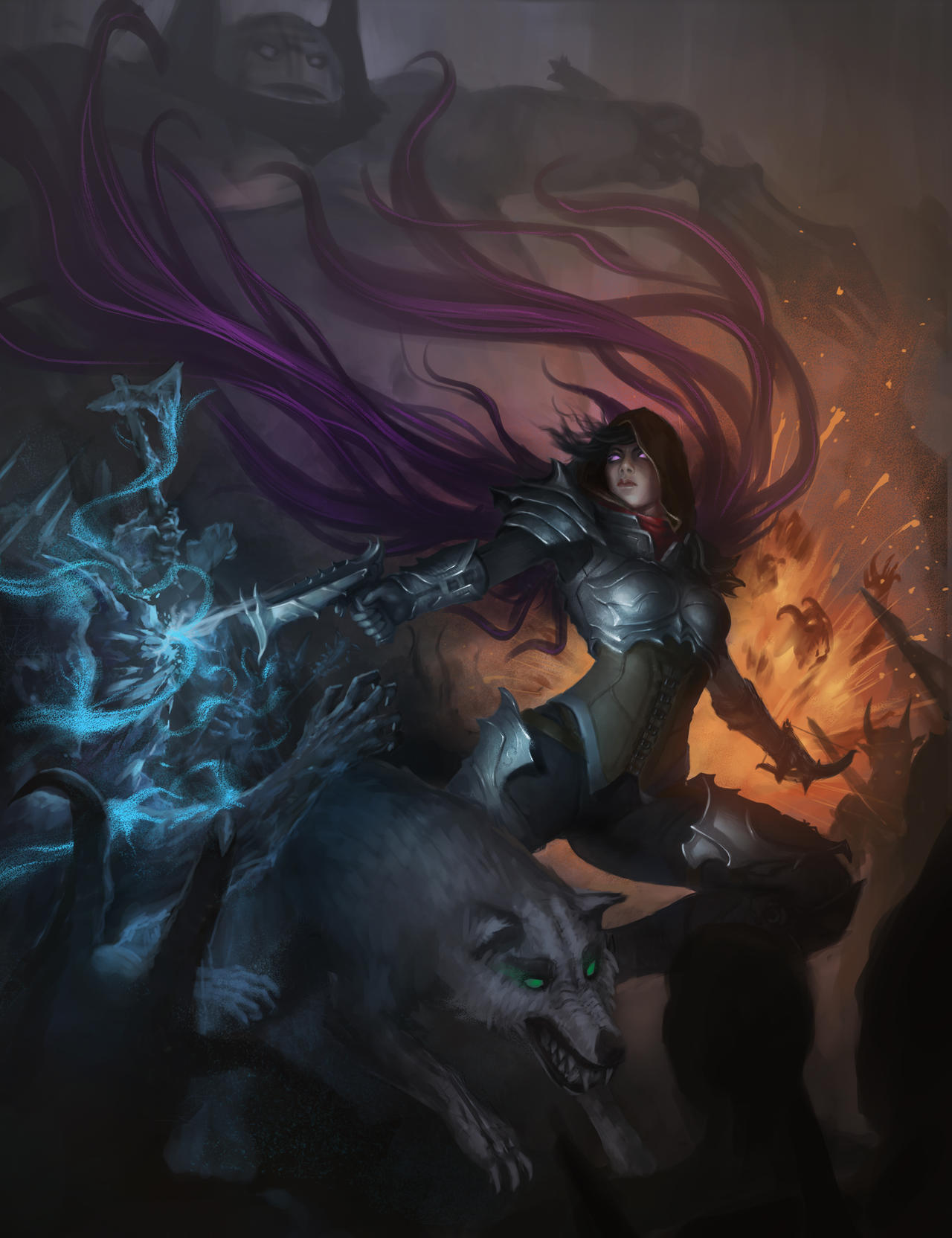 Demon Hunter by Zen-Is