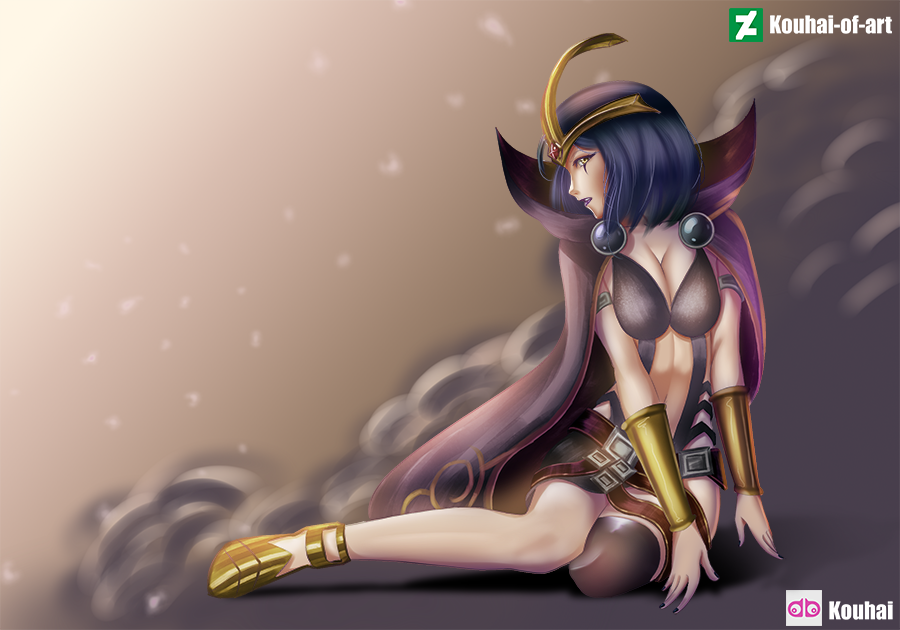 LeBlanc by Kouhai-Of-Art