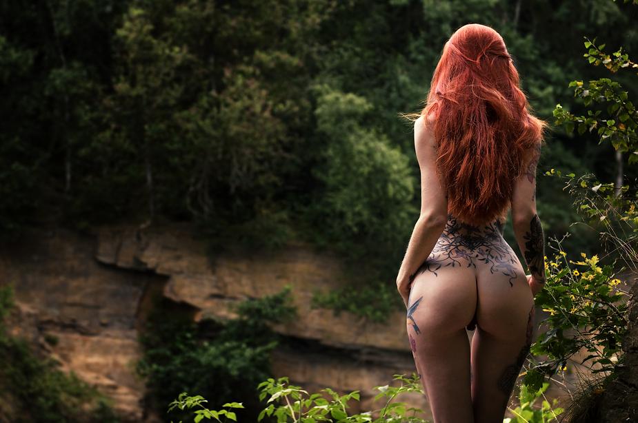 рыжие девушки фото ню