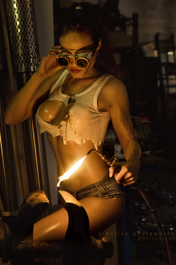 Has sexy welding girls share your