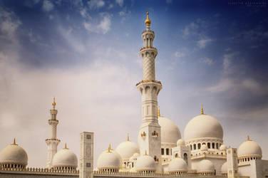~sheikh zayed mosque~ by creativephotoworks