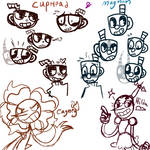 CupHead Doodles-and expressions