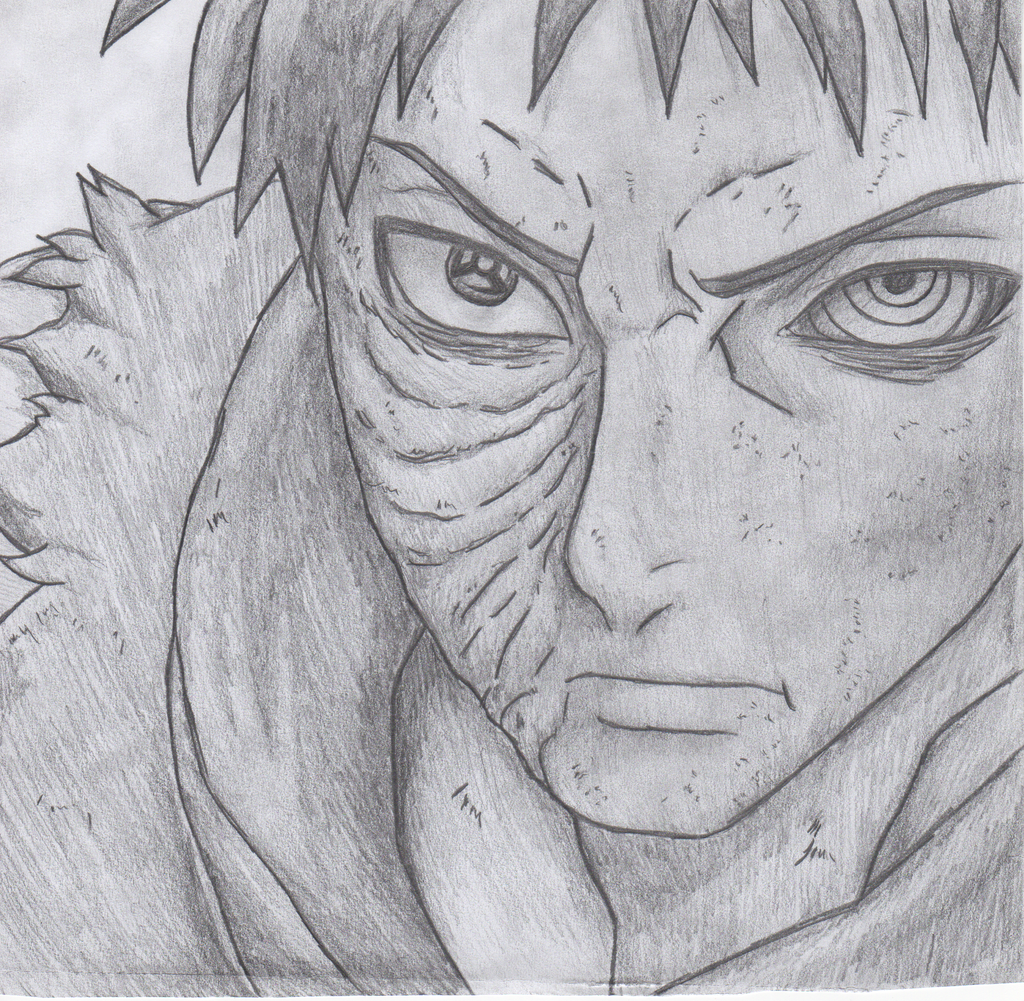 Obito drawing by Bgfle...