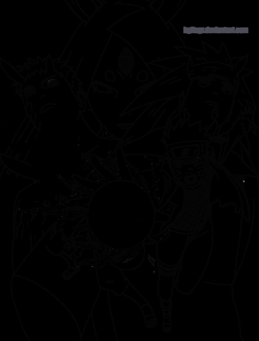 Lineart Naruto : Naruto storm lineart by bgflegz on deviantart