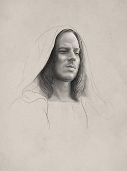 Jaqen (practice sketch)