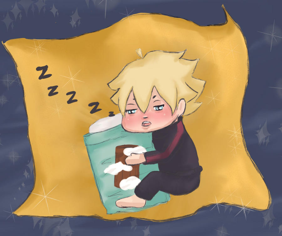 Sleepy-Boruto by xxAnarack