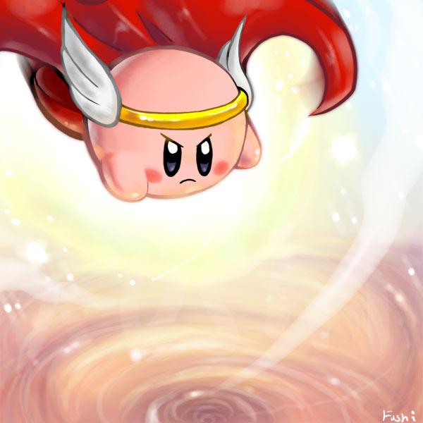 HiJump Kirby by Fushidane