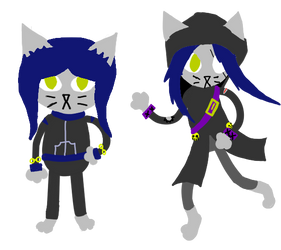 Nitw style sapphire and Iris