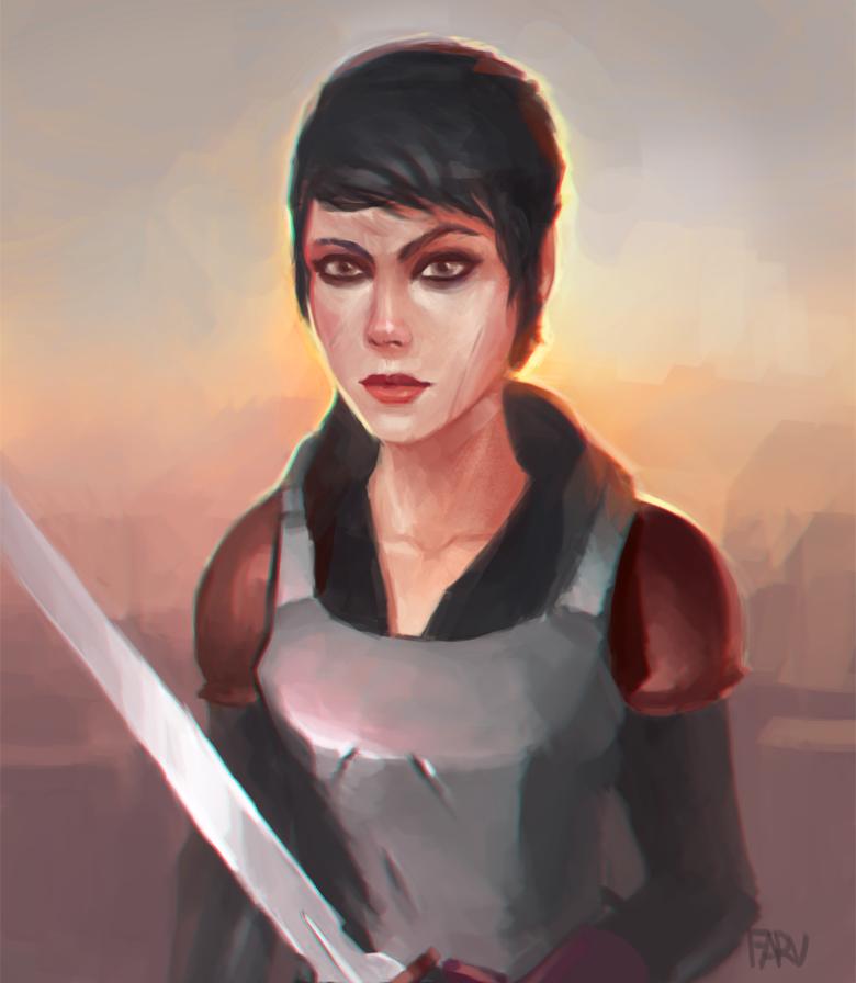 Cassandra by farv