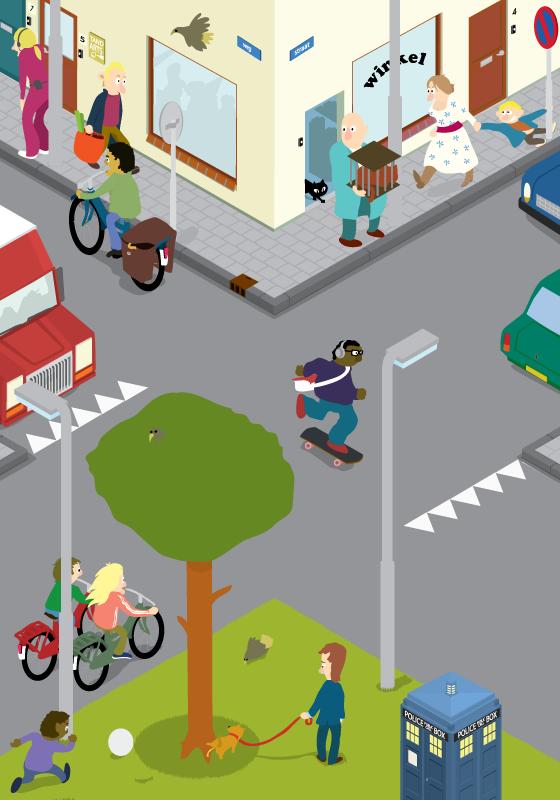 Dibujos De Servicios Publicos En MI Comunidad