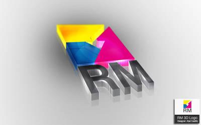 RM 3D Logo. by neneholic