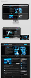 Blueboy Media Web Design by neneholic