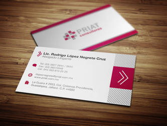 Priat Business Card by neneholic
