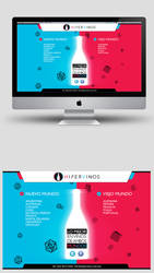 Hipervinos Under Construction Website by neneholic