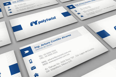 Polytwist Busness Card by neneholic