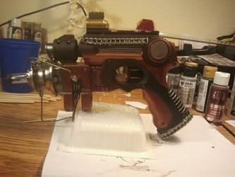Punked Nerf Pistol by DefenderofWolves