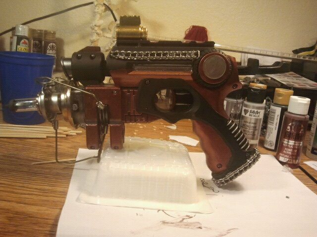 Punked Nerf Pistol by DefenderofWolves