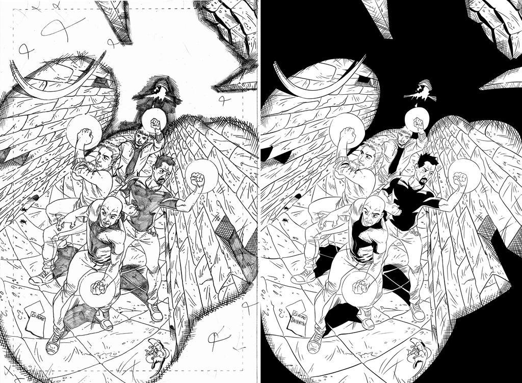 Cover - Seres de Luz INk by axelsalmeron