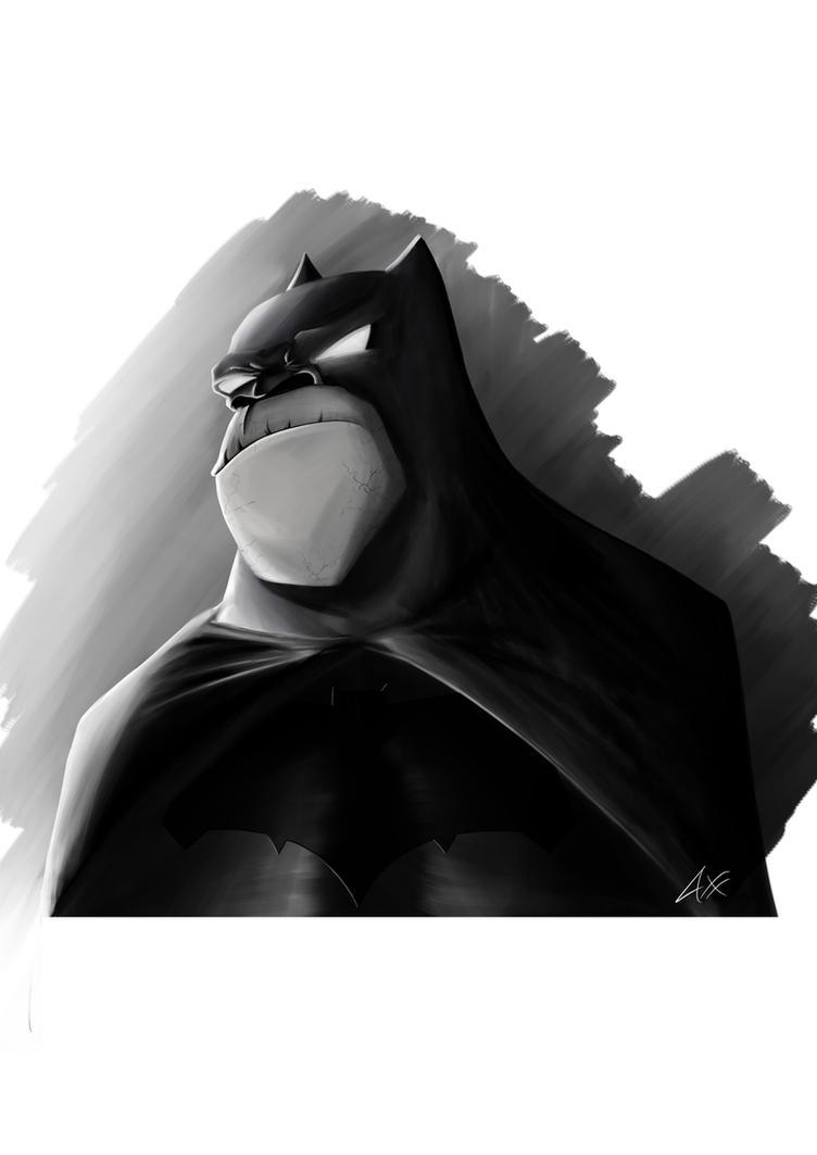 Batman Gorilla. by axelsalmeron