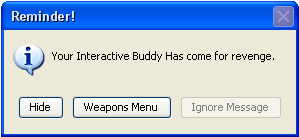 Interactive Buddy Warning by Hidanfan15