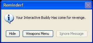 Interactive Buddy Warning by Hidanfan15