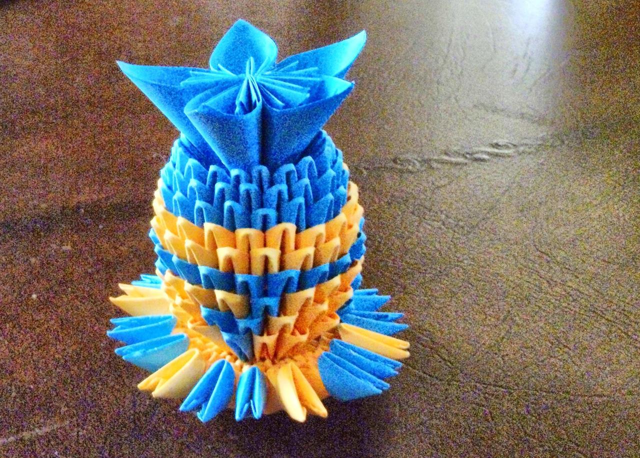 3D VAse Origami