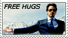 Stamp - Iron Hugs by Isilrina