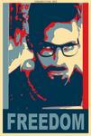 Gordon Freeman Obama Poster