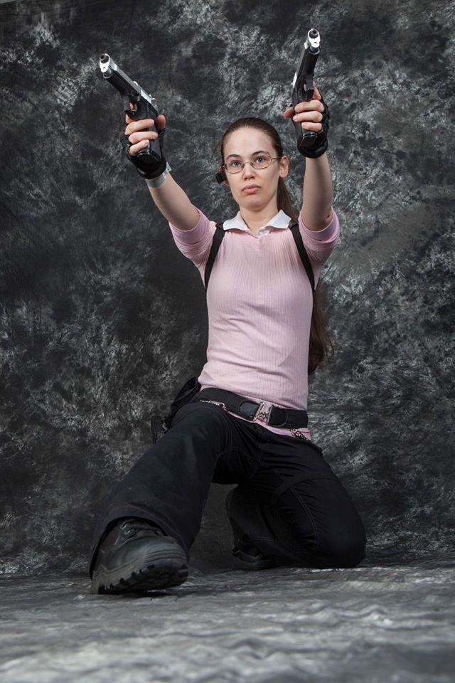 Tomb Raider Legend Winter Pink Alma '16 by trowastorm