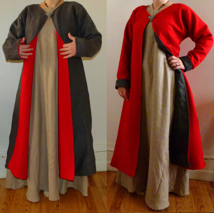 Rich viking coat by symbelmune on deviantart for Porte a porte clothing