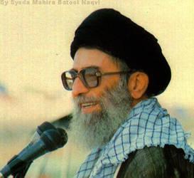 ayatullah syed ali khamenei by MahiraBatool