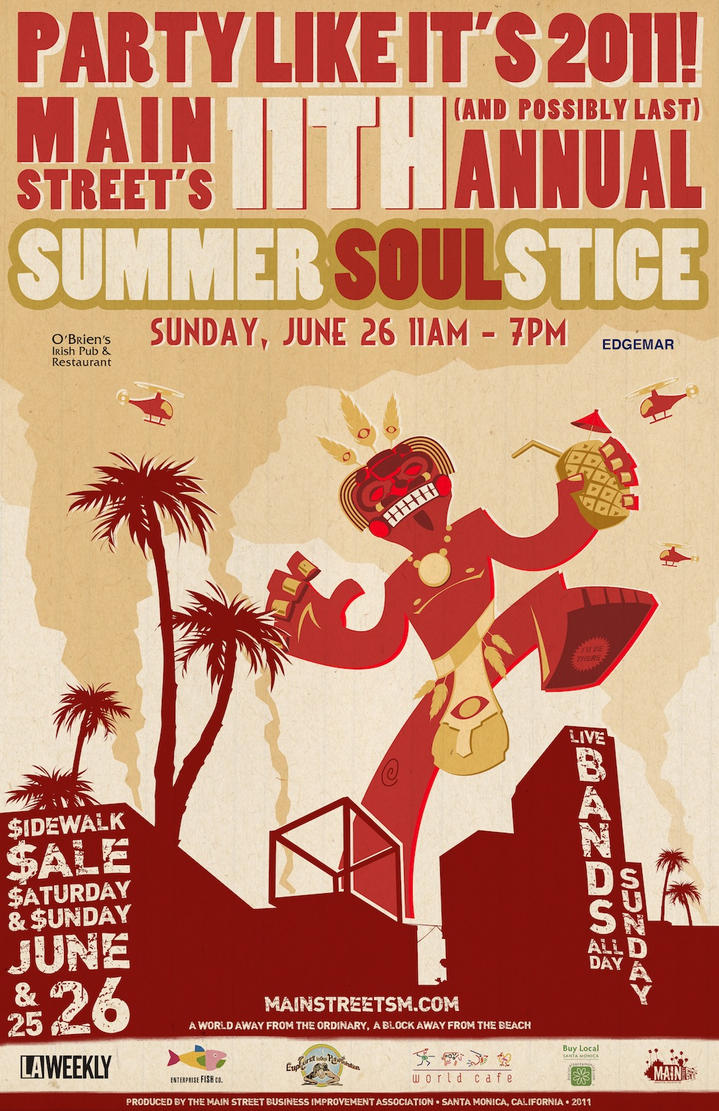 Summer Soulstice 2011 Poster by Trozdol