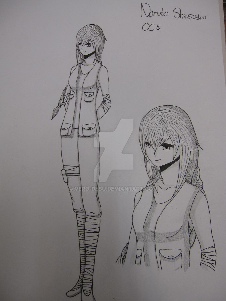 Naruto Shippuden OC: Midori, Levy - line n shade by Vero ...
