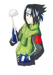 Sasuke by Vero-desu