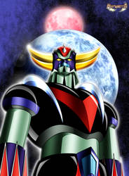 King of Space, Grendizer ! by Huramechi