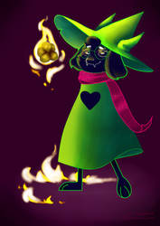 Ralsei by Dontgiveafvck