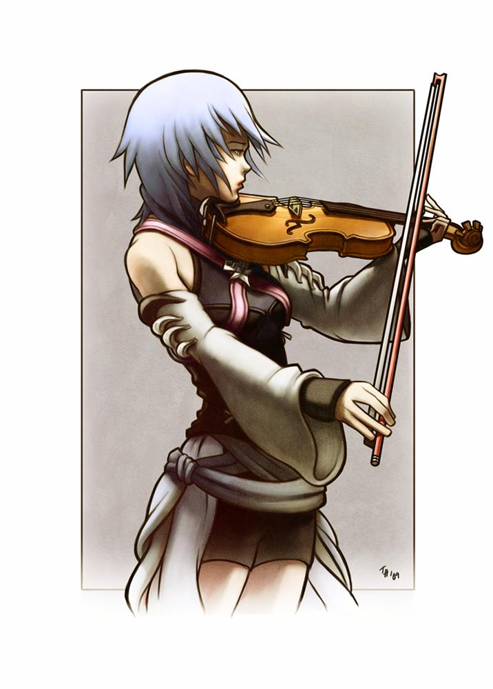 Kingdom Hearts - Aqua by tsim