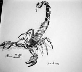 Scorpion - quick sketch