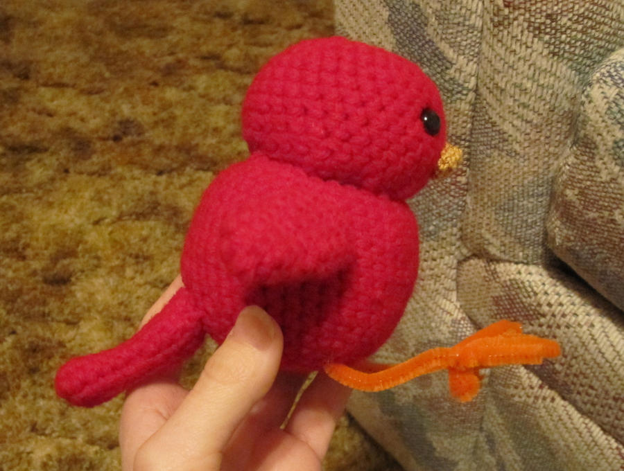 Amigurumi Bird Feet : Crochet Bird by LilBluestem on DeviantArt