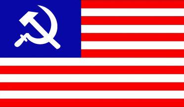 US USSR Flag