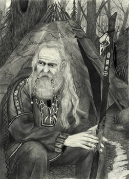 Nordic Shaman by IlmarinenKowal
