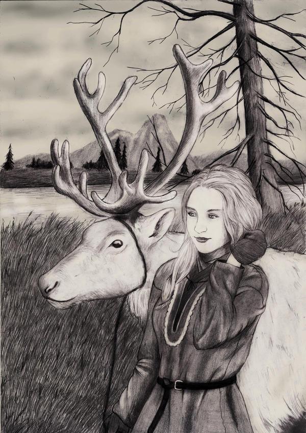 Sami girl by IlmarinenKowal