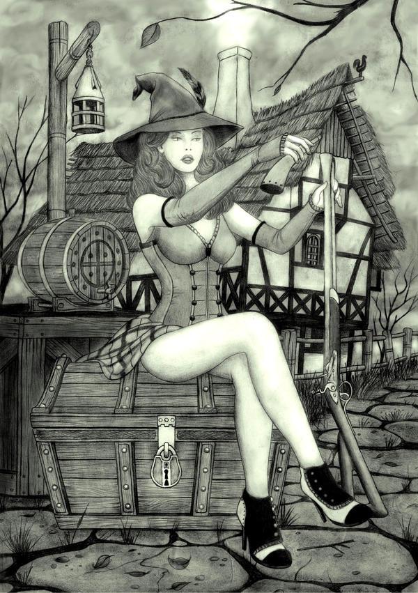 Witch! Ilmarinenkowal by IlmarinenKowal