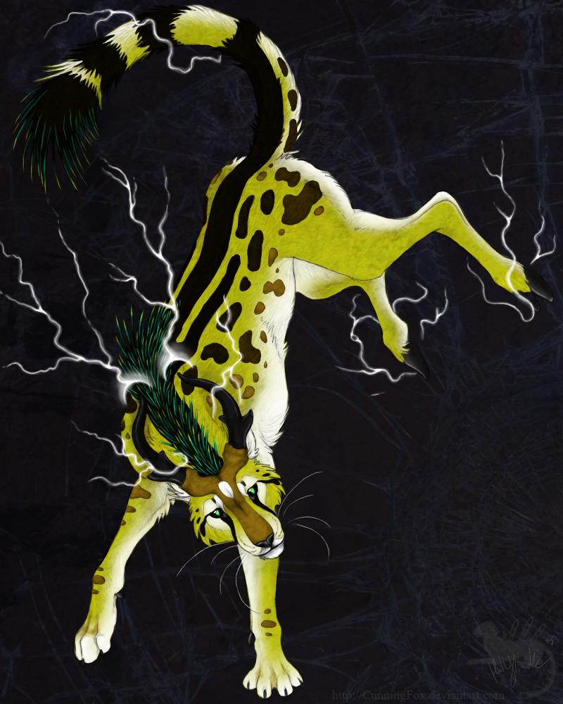 Elemental Lightning by Bear-hybrid